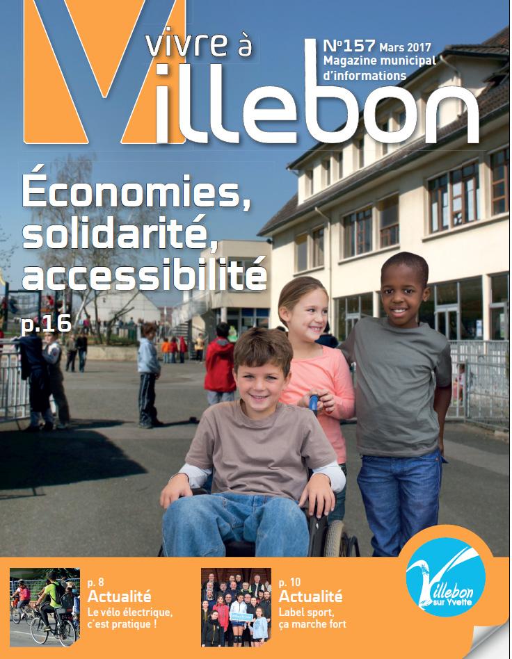 Vivre à Villebon n°157 - mars 2017