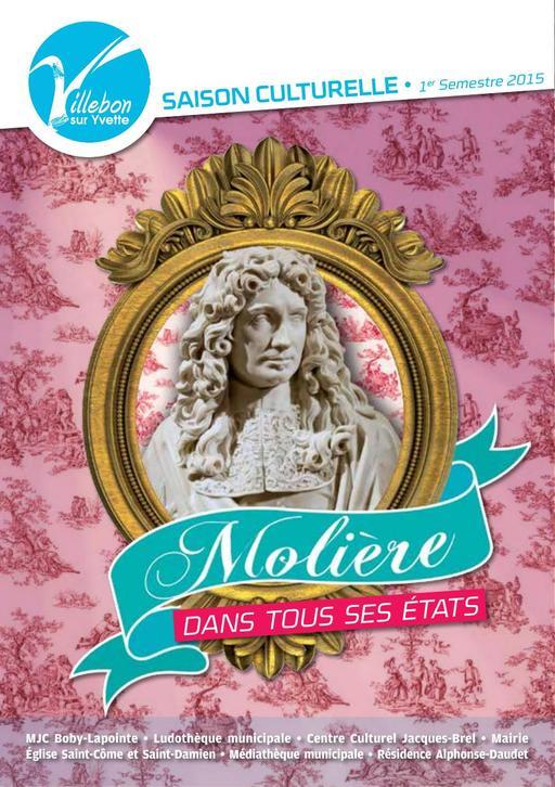 Plaquette Molière - 1er semestre 2015