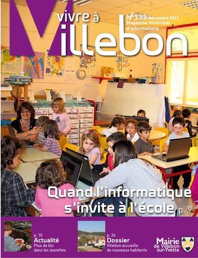 Vivre à Villebon n°133 - novembre 2011