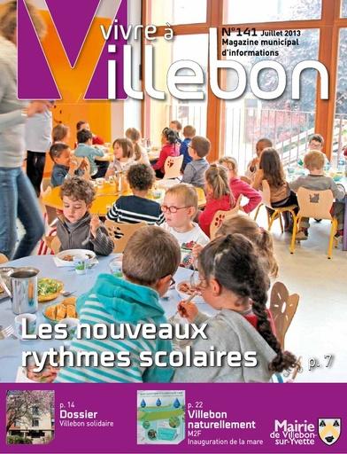 Vivre à Villebon n°141 - juillet 2013
