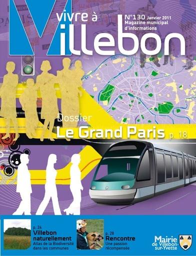 Vivre à Villebon n°130 - janvier 2011