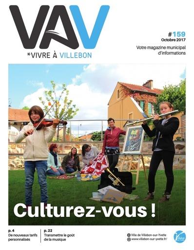 Vivre à Villebon n°159 - octobre 2017