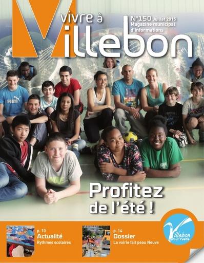 Vivre à Villebon n°150 - juillet 2015