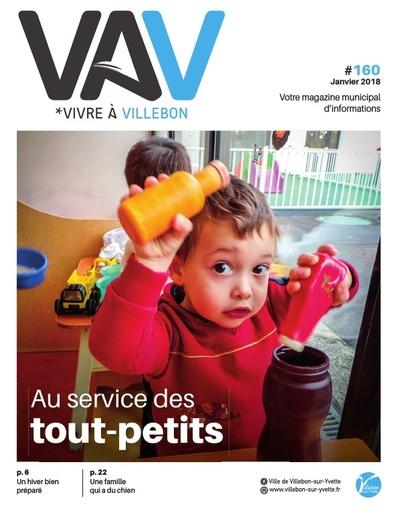 Vivre a Villebon n°160 - janvier 2018