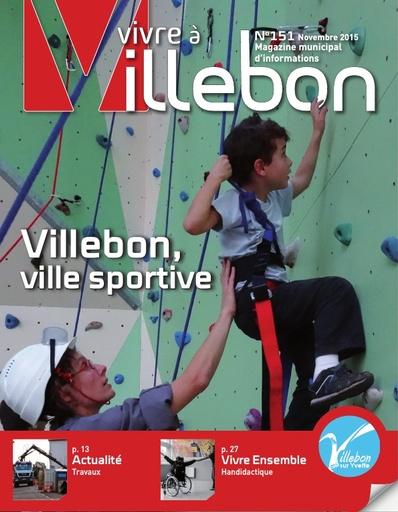 Vivre à Villebon n°151 - novembre 2015