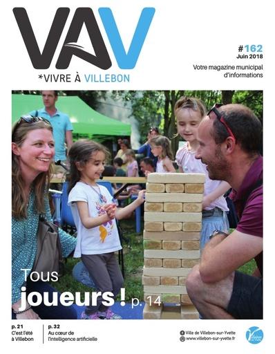 Vivre à Villebon n°162 - juin 2018