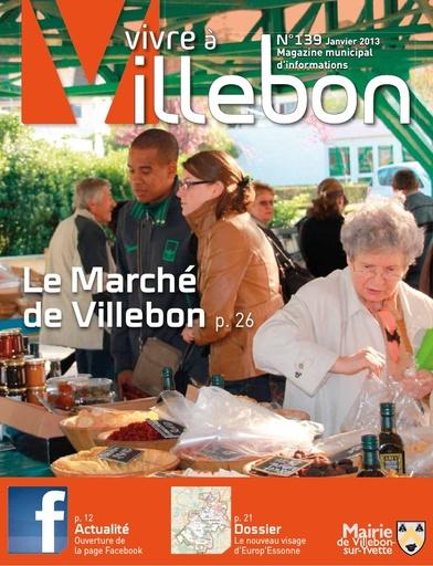 Vivre à Villebon n°139 - janvier 2013