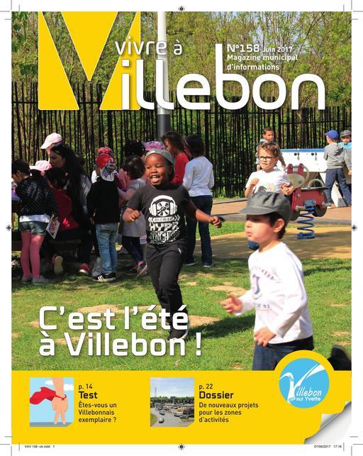Vivre a Villebon n°158 - juin 2017