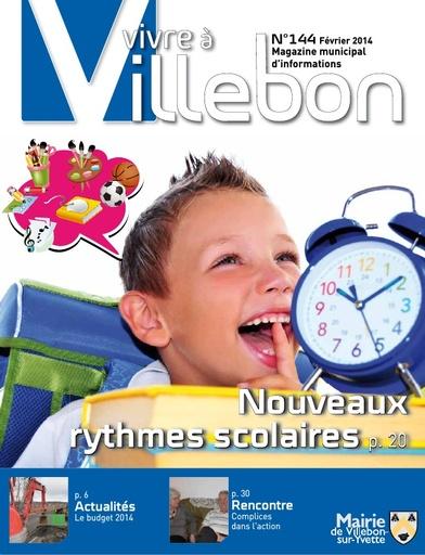 Vivre à Villebon n°144 - février 2014