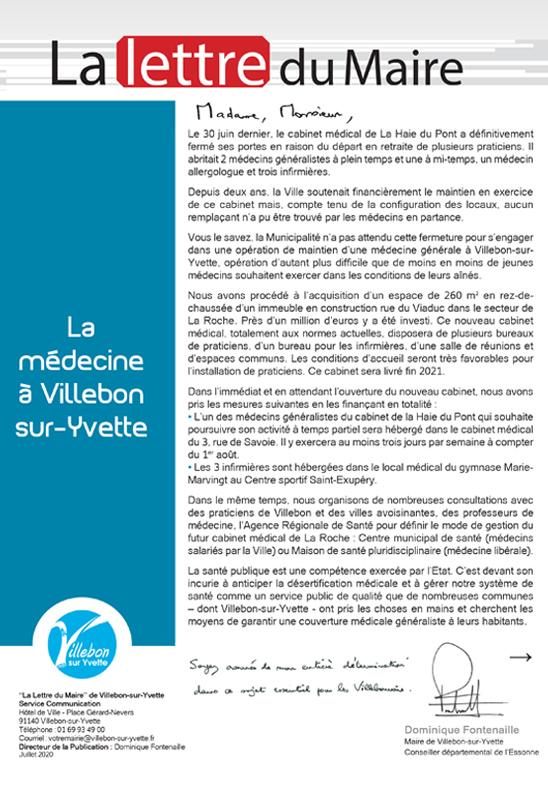 La médecine à Villebon-sur-Yvette