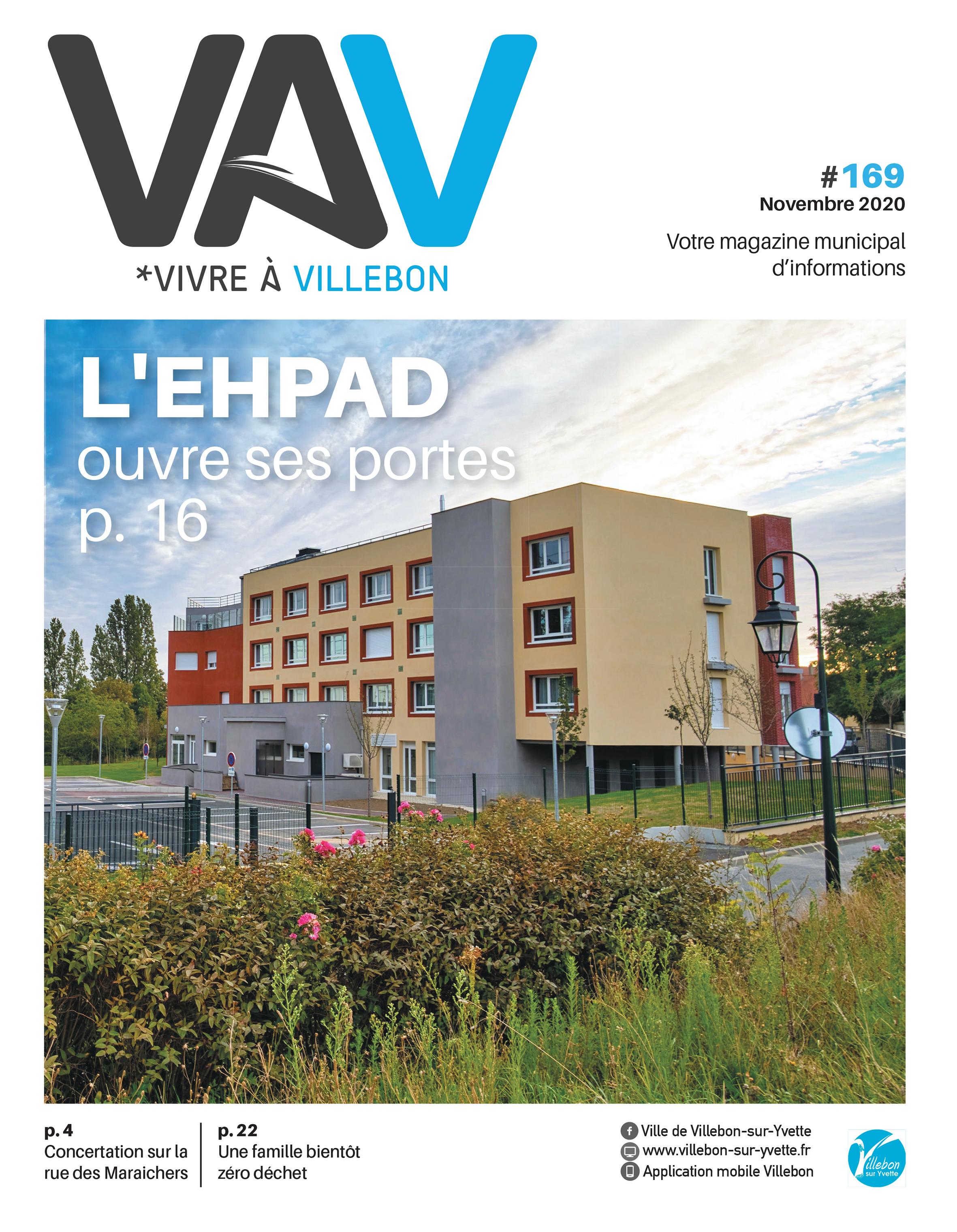 Vivre à Villebon n°169 - novembre 2020