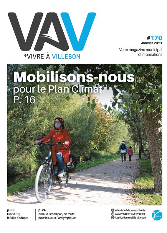 Vivre à Villebon n°170 - janvier 2021