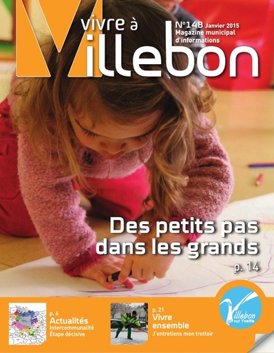 Vivre à Villebon n°148 - janvier 2015