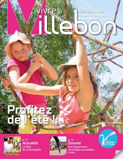 Vivre à Villebon n°154 - juin 2016