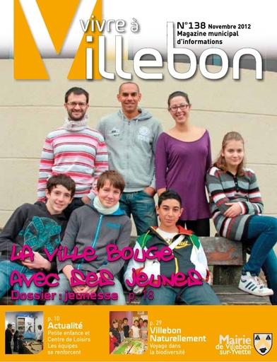 Vivre à Villebon n°138 - novembre 2012