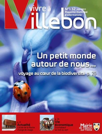 Vivre à Villebon n°132 - juin 2011