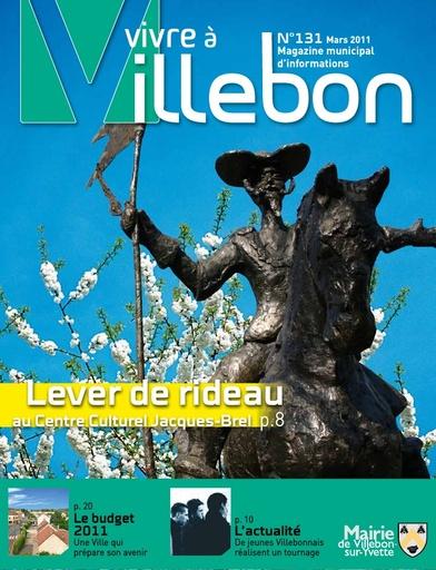 Vivre à Villebon n°131 - mars 2011