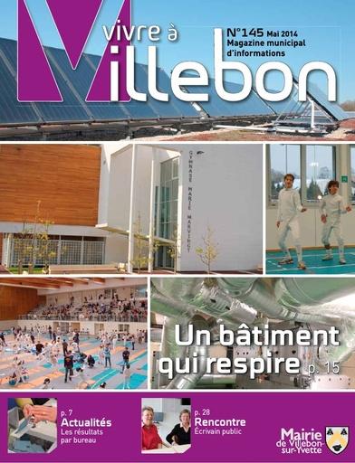 Vivre à Villebon n°145 - mai 2014