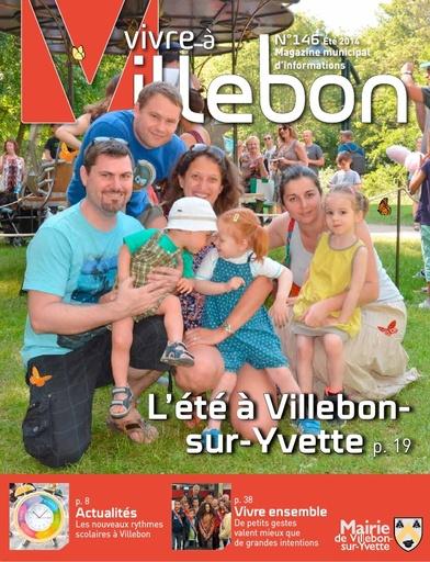 Vivre à Villebon n°146 - Eté 2014