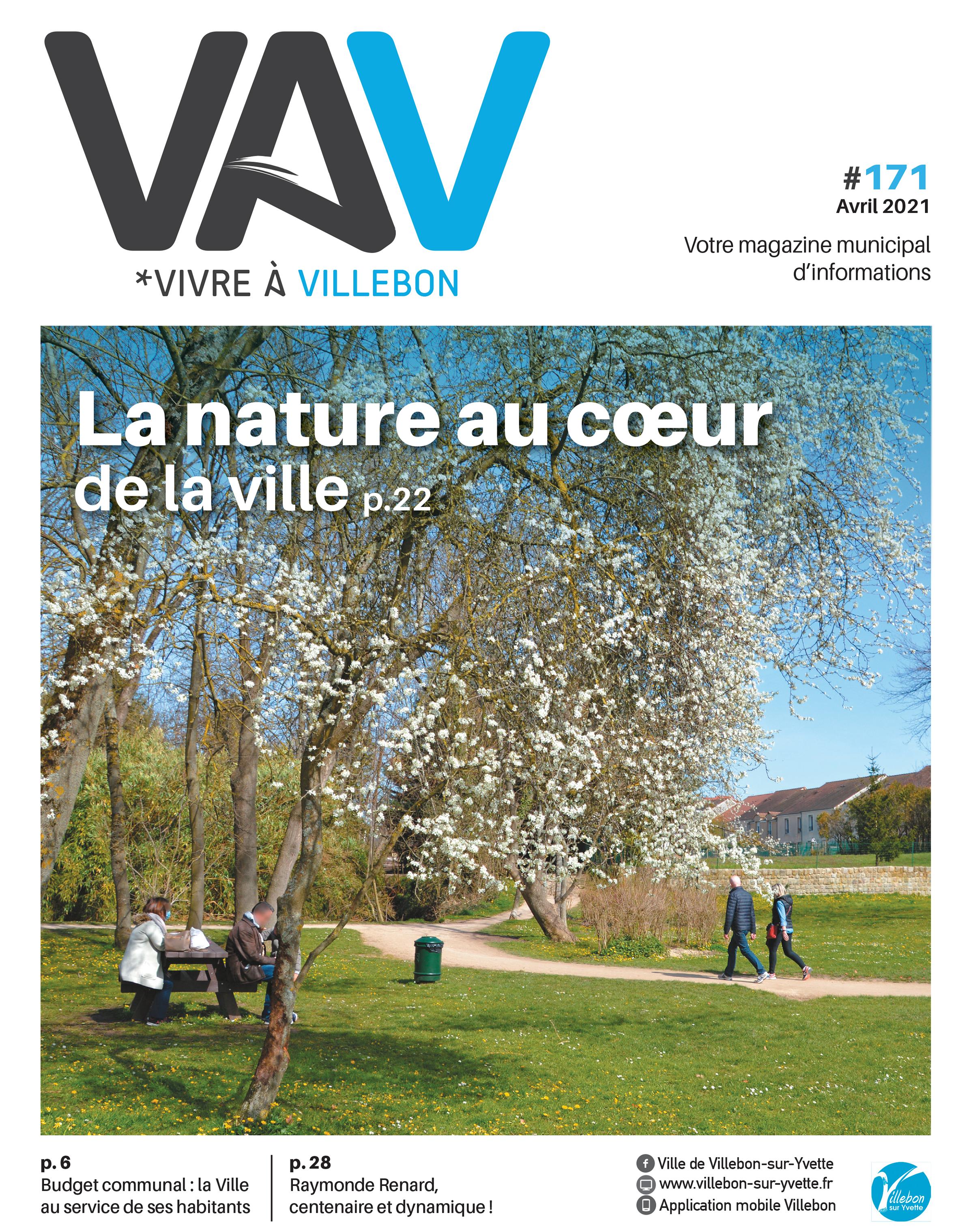 Vivre à Villebon n°171 - Avril 2021