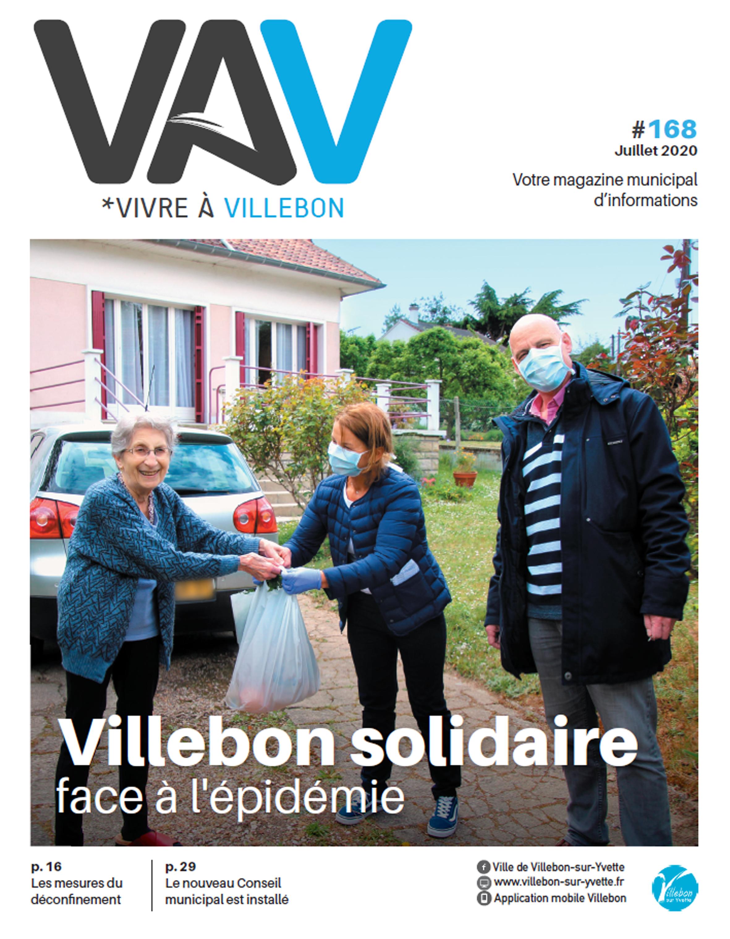 Vivre à Villebon n°168 - juillet 2020